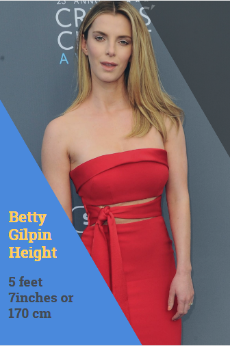 Betty Gilpin height