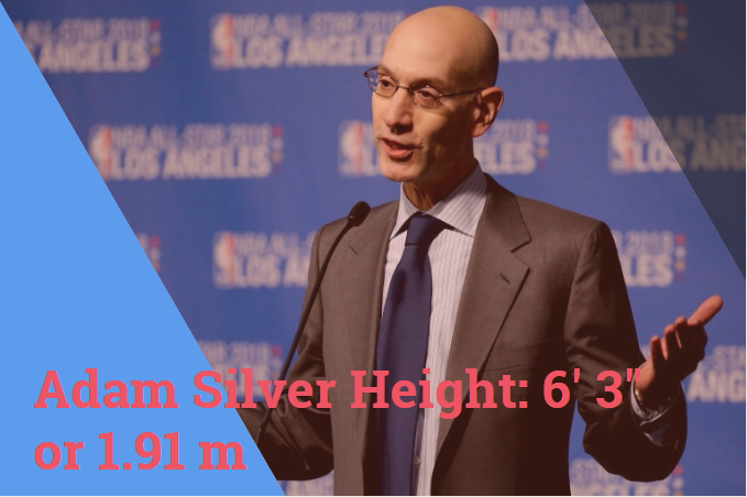 adam silver height