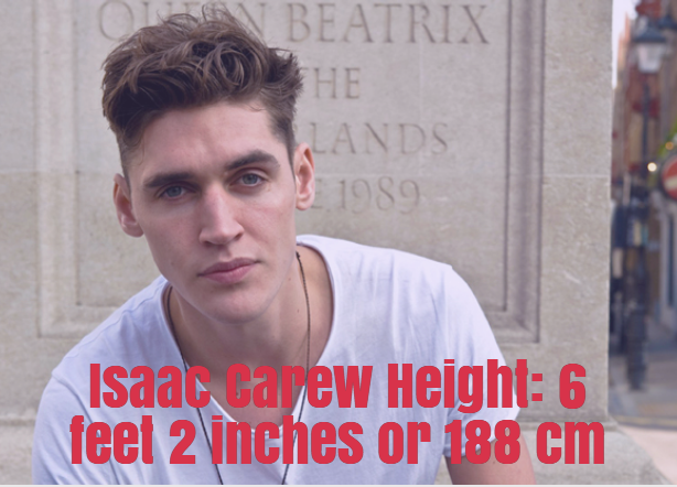 isaac carew height