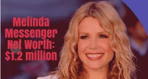 Melinda Messenger Net Worth