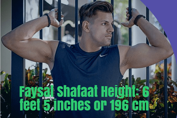 Faysal Shafaat Height